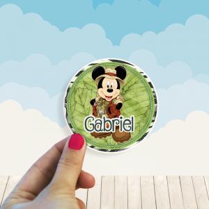 Stickers Mickey Safari