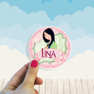 Stickers Princesa Mulan