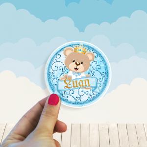 Stickers Oso Principe